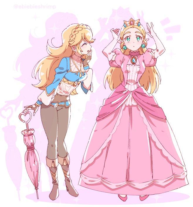 hentai ゼルダ姫 princess zelda2 - 【The Legend of Zelda】ゼルダ姫のエロ画像:イラスト