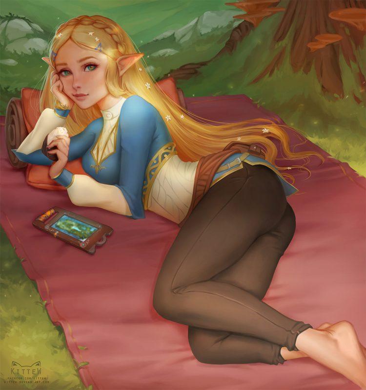 hentai ゼルダ姫 princess zelda23 - 【The Legend of Zelda】ゼルダ姫のエロ画像:イラスト