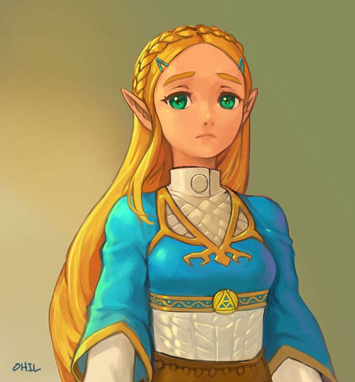hentai ゼルダ姫 princess zelda4 - 【The Legend of Zelda】ゼルダ姫のエロ画像:イラスト