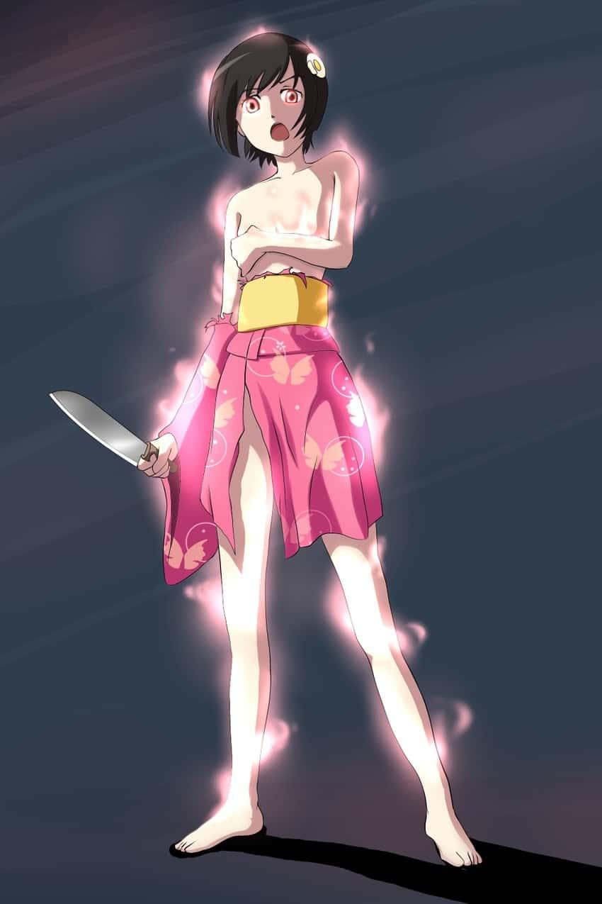 hentai 偽物語 阿良々木月火128 - 【偽物語】阿良々木月火ちゃんのエロ画像:イラスト その4