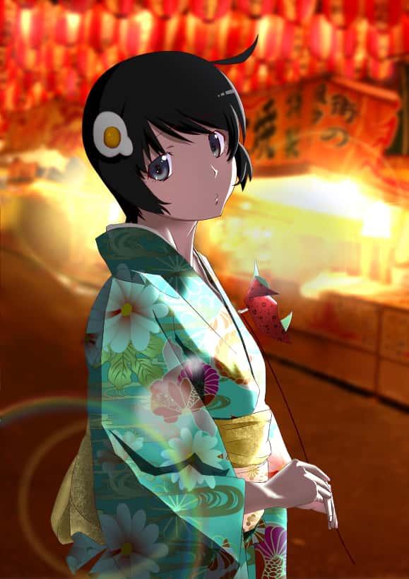 hentai 偽物語 阿良々木月火131 - 【偽物語】阿良々木月火ちゃんのエロ画像:イラスト その4