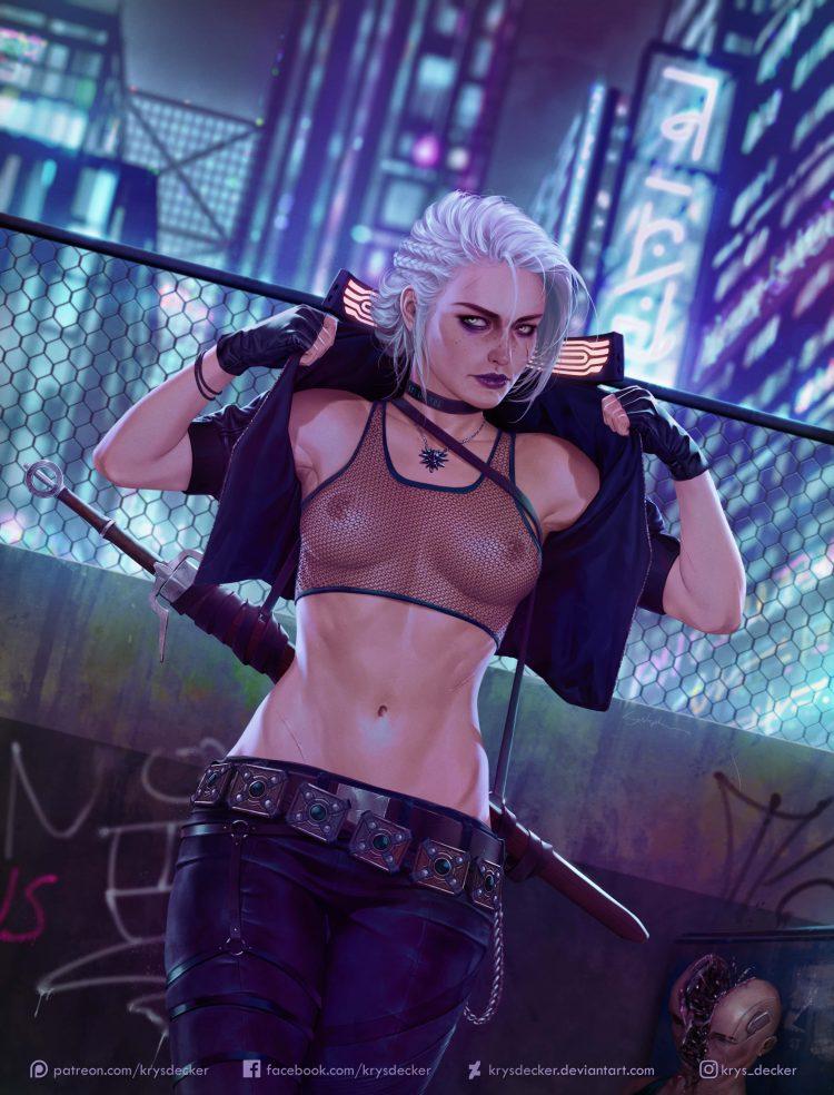 hentai cyberpunk 207710 - 【ゲーム】「サイバーパンク2077」のエロ画像:イラスト
