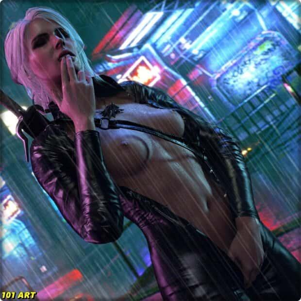 hentai cyberpunk 207716 - 【ゲーム】「サイバーパンク2077」のエロ画像:イラスト