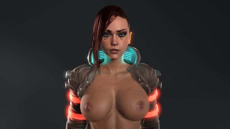 hentai cyberpunk 207719 - 【ゲーム】「サイバーパンク2077」のエロ画像:イラスト