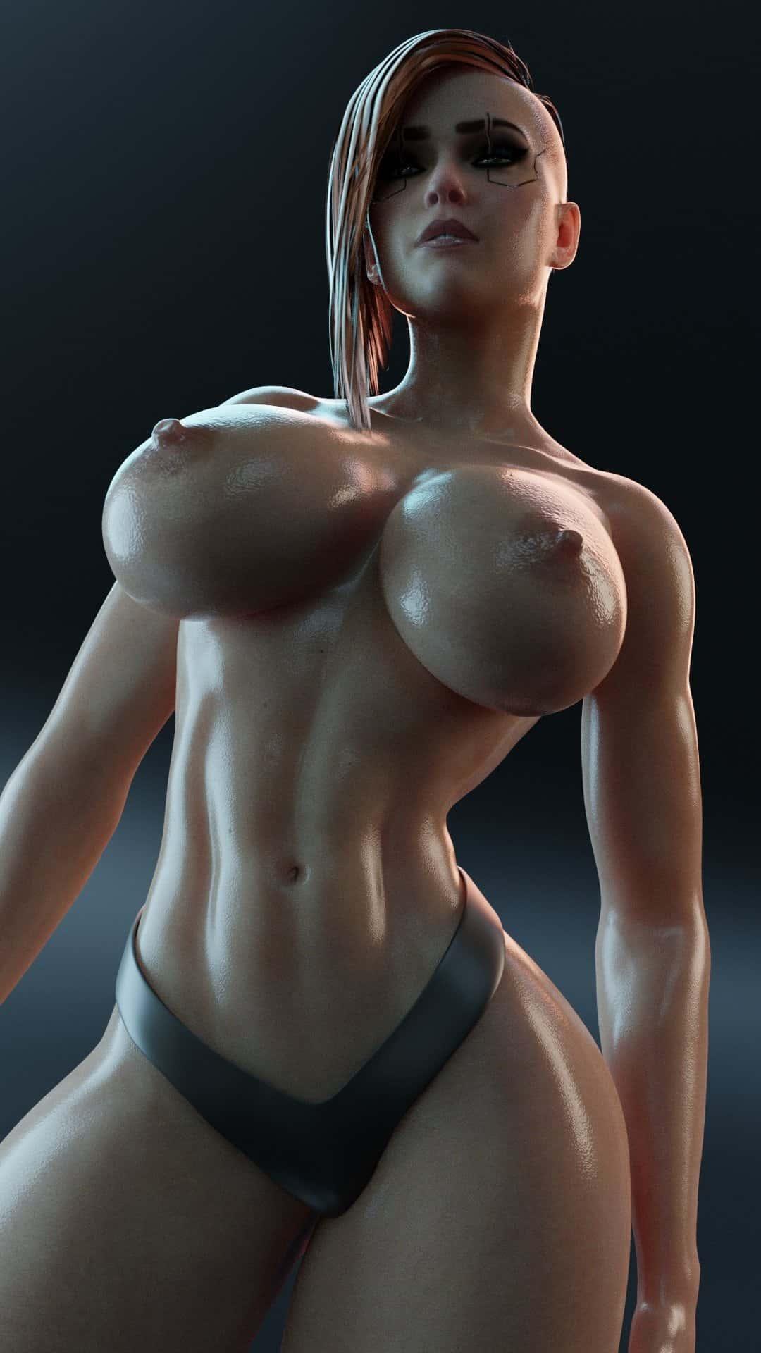 hentai cyberpunk 20775 - 【ゲーム】「サイバーパンク2077」のエロ画像:イラスト