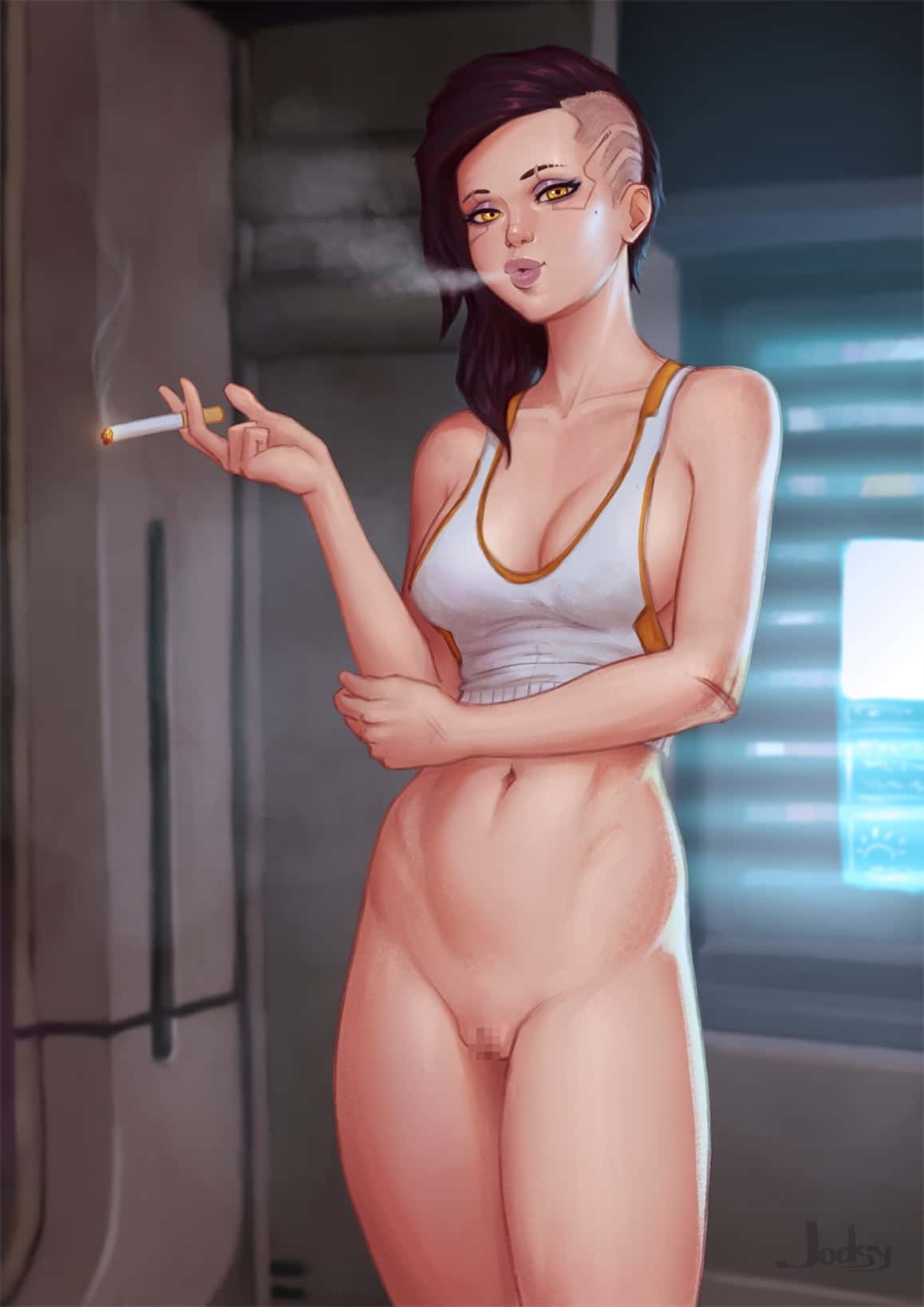 hentai cyberpunk 20776 - 【ゲーム】「サイバーパンク2077」のエロ画像:イラスト