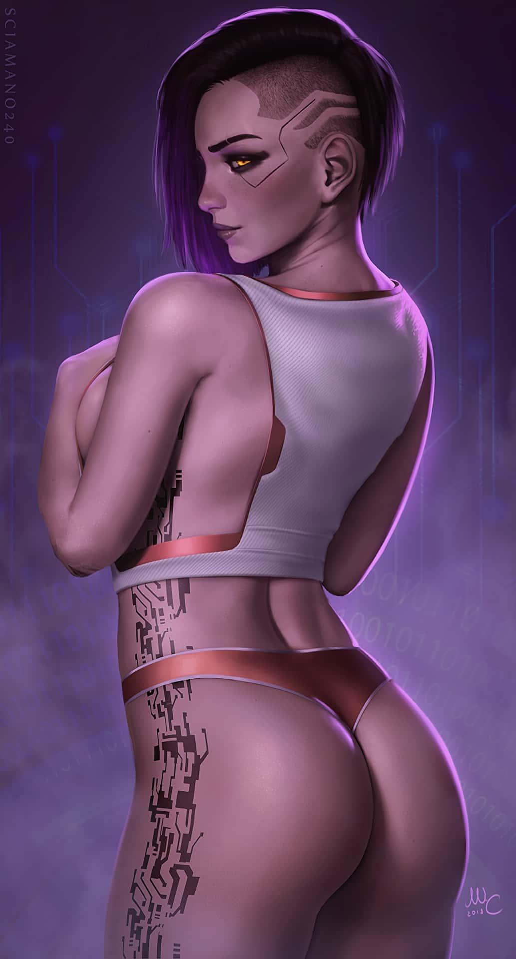 hentai cyberpunk 20778 - 【ゲーム】「サイバーパンク2077」のエロ画像:イラスト