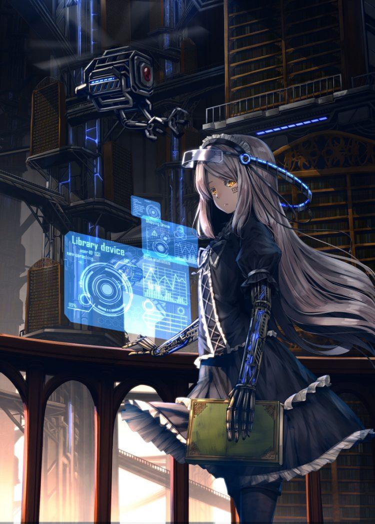 hentai cyborg Android 2 cyberpunk 1 - 【二次】サイボーグやアンドロイドのエロ画像:イラスト その10