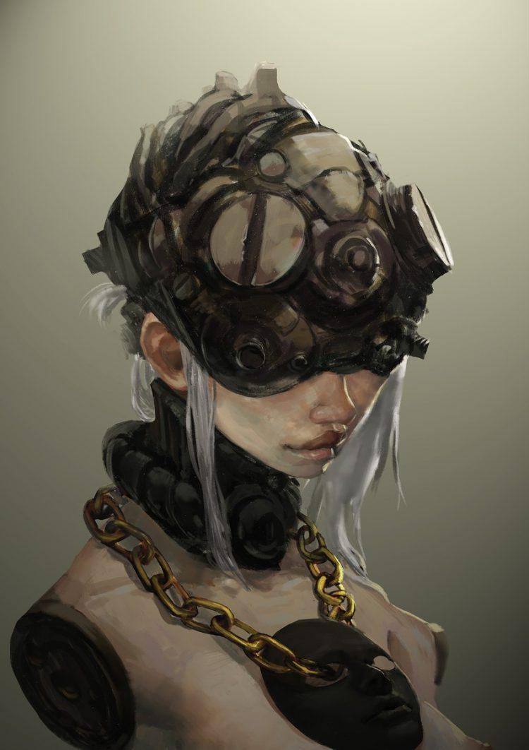hentai cyborg Android 2 cyberpunk 105 - 【二次】サイボーグやアンドロイドのエロ画像:イラスト その12