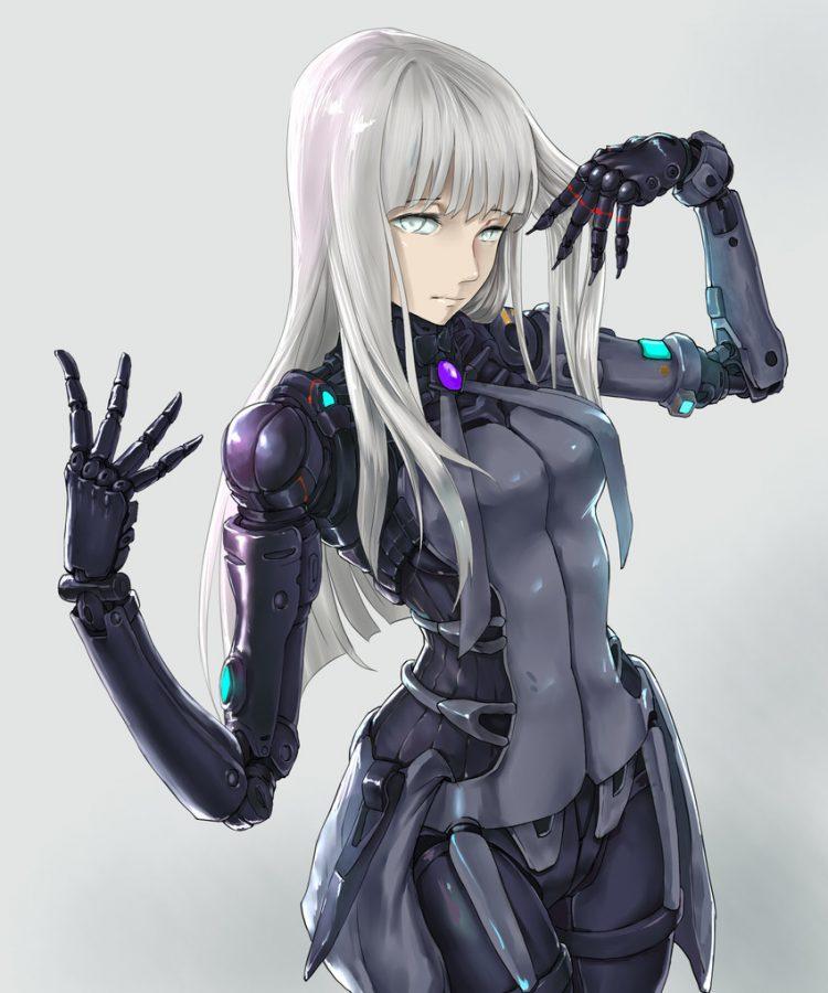 hentai cyborg Android 2 cyberpunk 11 - 【二次】サイボーグやアンドロイドのエロ画像:イラスト その10