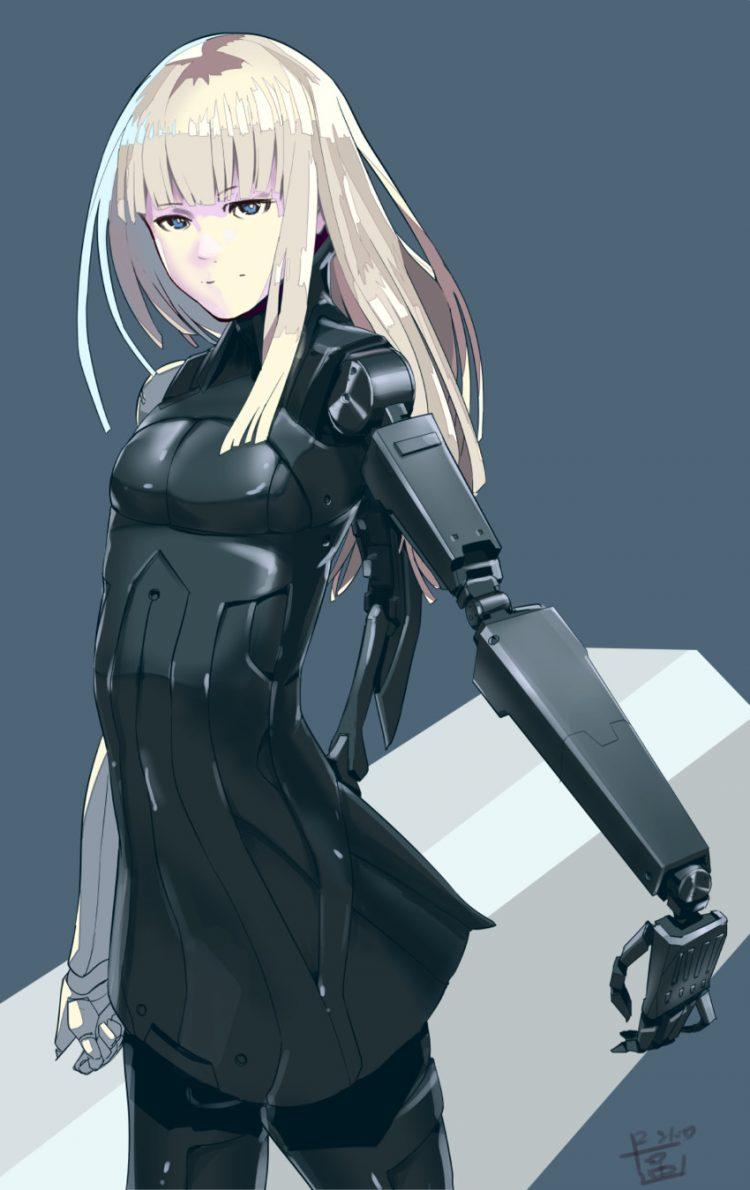 hentai cyborg Android 2 cyberpunk 13 - 【二次】サイボーグやアンドロイドのエロ画像:イラスト その10