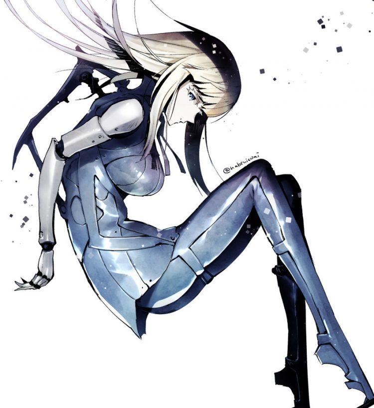 hentai cyborg Android 2 cyberpunk 15 - 【二次】サイボーグやアンドロイドのエロ画像:イラスト その10