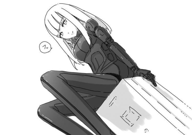 hentai cyborg Android 2 cyberpunk 17 - 【二次】サイボーグやアンドロイドのエロ画像:イラスト その10