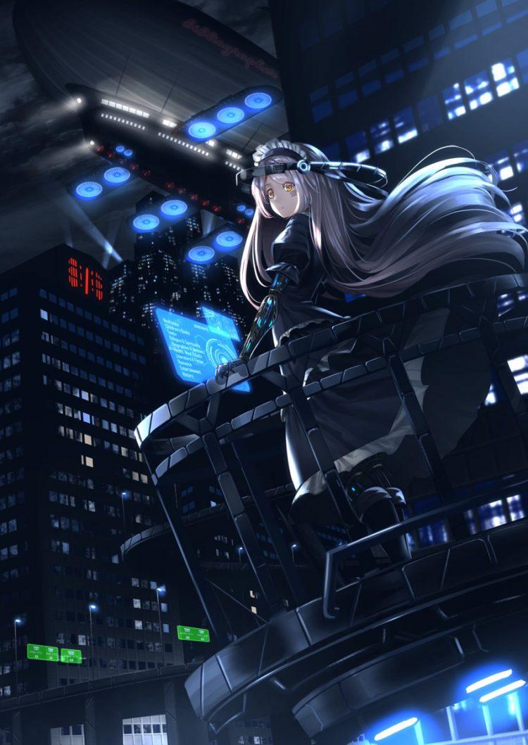 hentai cyborg Android 2 cyberpunk 2 - 【二次】サイボーグやアンドロイドのエロ画像:イラスト その10
