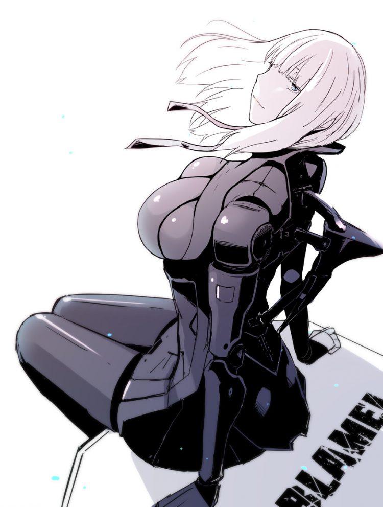 hentai cyborg Android 2 cyberpunk 20 - 【二次】サイボーグやアンドロイドのエロ画像:イラスト その10