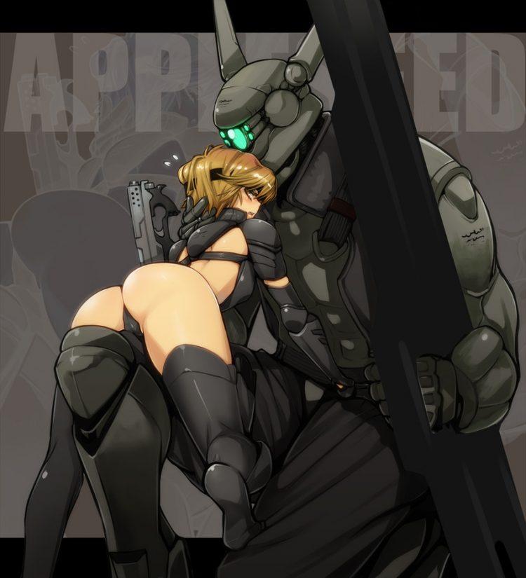 hentai cyborg Android 2 cyberpunk 22 - 【二次】サイボーグやアンドロイドのエロ画像:イラスト その10