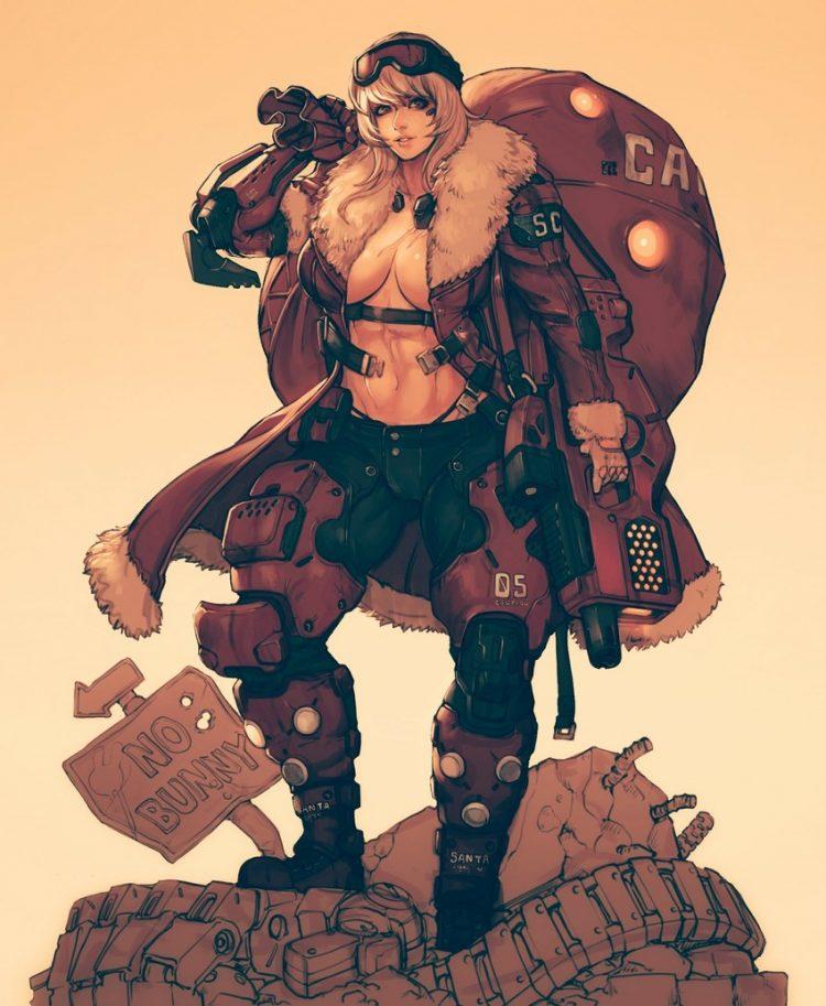 hentai cyborg Android 2 cyberpunk 28 - 【二次】サイボーグやアンドロイドのエロ画像:イラスト その10
