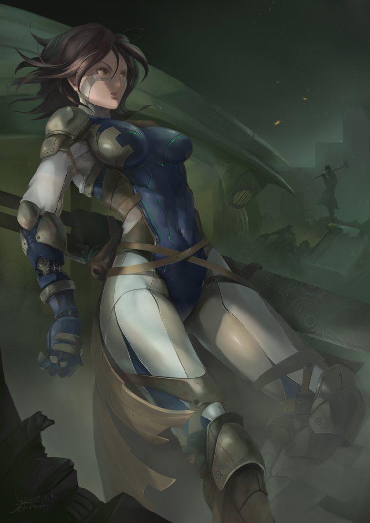 hentai cyborg Android 2 cyberpunk 32 - 【二次】サイボーグやアンドロイドのエロ画像:イラスト その10