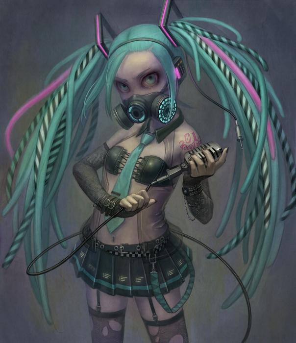 hentai cyborg Android 2 cyberpunk 34 - 【二次】サイボーグやアンドロイドのエロ画像:イラスト その10