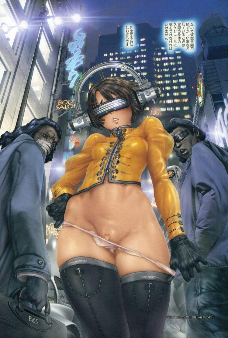 hentai cyborg Android 2 cyberpunk 6 - 【二次】サイボーグやアンドロイドのエロ画像:イラスト その10