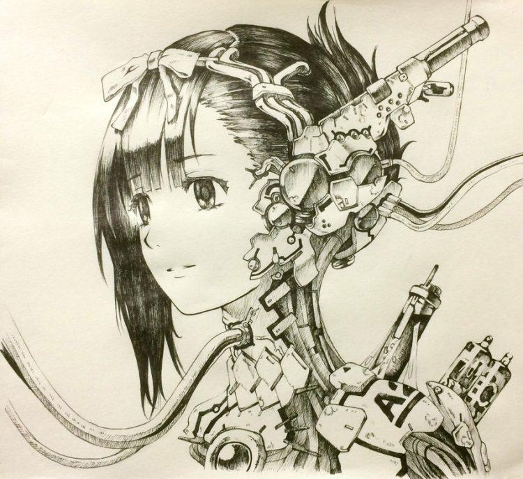 hentai cyborg Android 2 cyberpunk 78 - 【二次】サイボーグやアンドロイドのエロ画像:イラスト その12