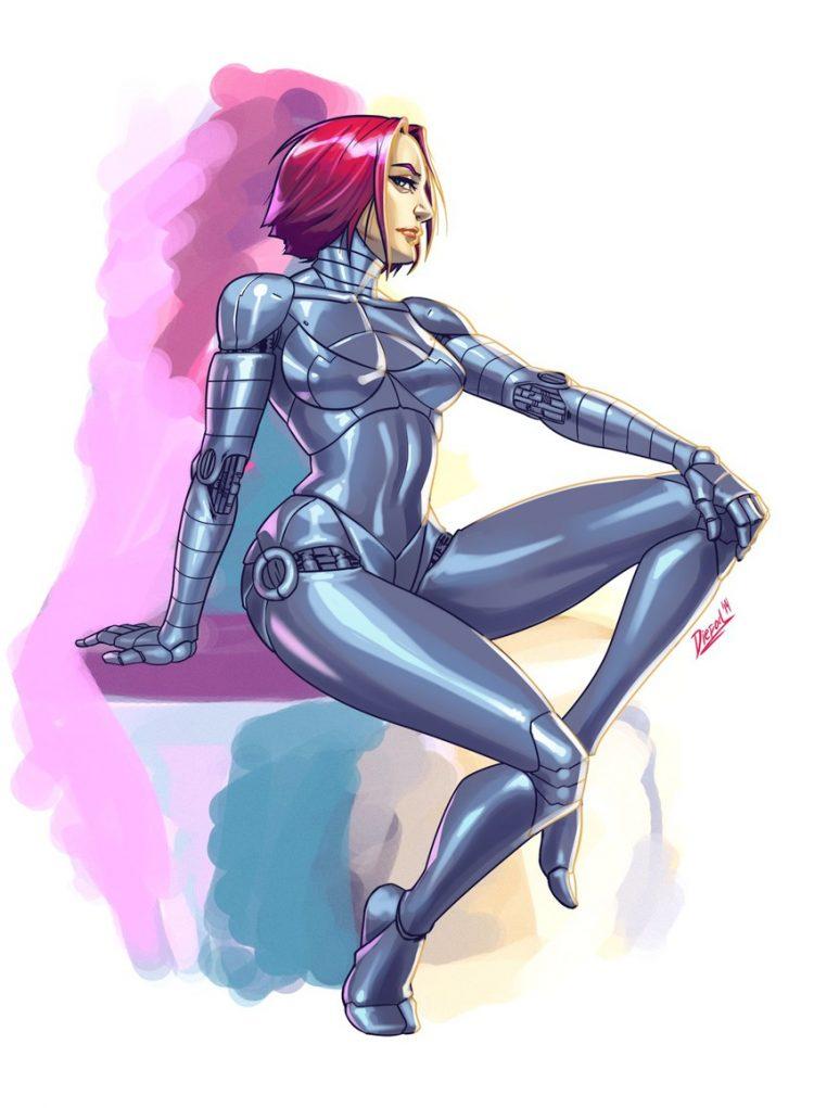 hentai cyborg Android 2 cyberpunk 79 - 【二次】サイボーグやアンドロイドのエロ画像:イラスト その12