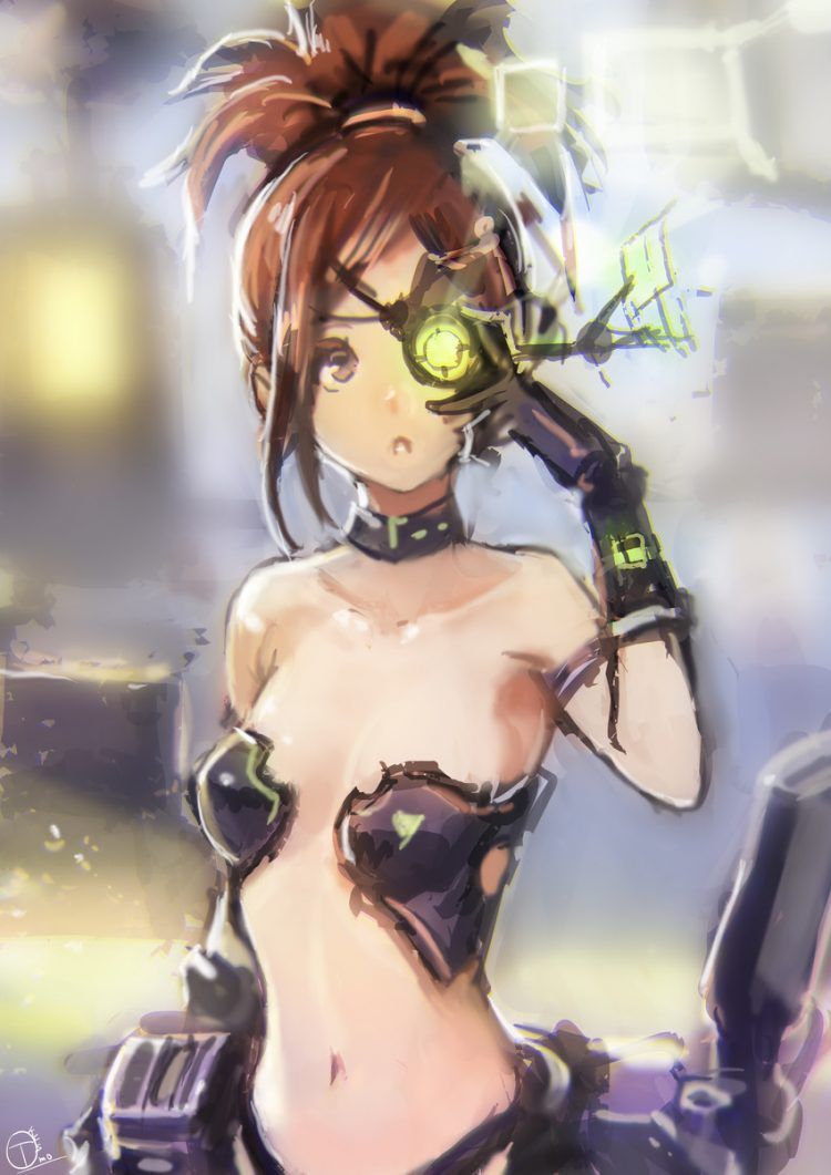 hentai cyborg Android 2 cyberpunk 88 - 【二次】サイボーグやアンドロイドのエロ画像:イラスト その12