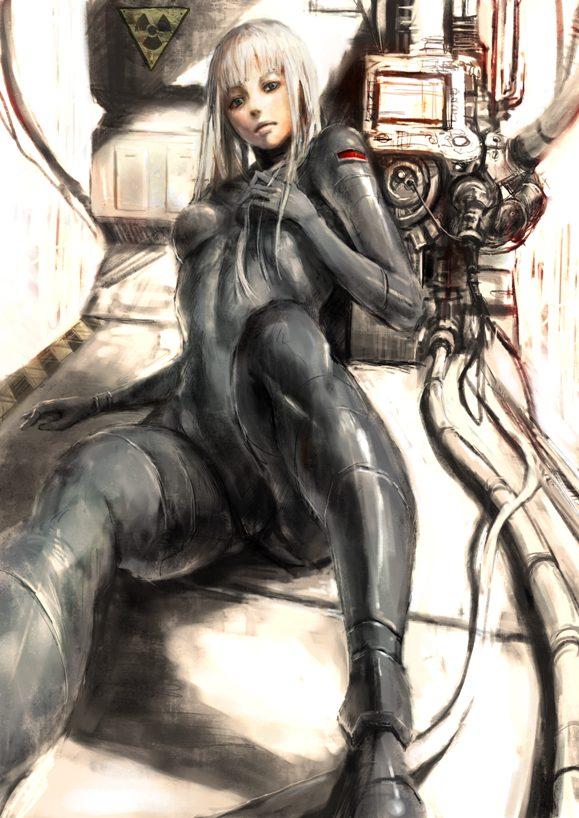 hentai cyborg Android 2 cyberpunk 9 - 【二次】サイボーグやアンドロイドのエロ画像:イラスト その10