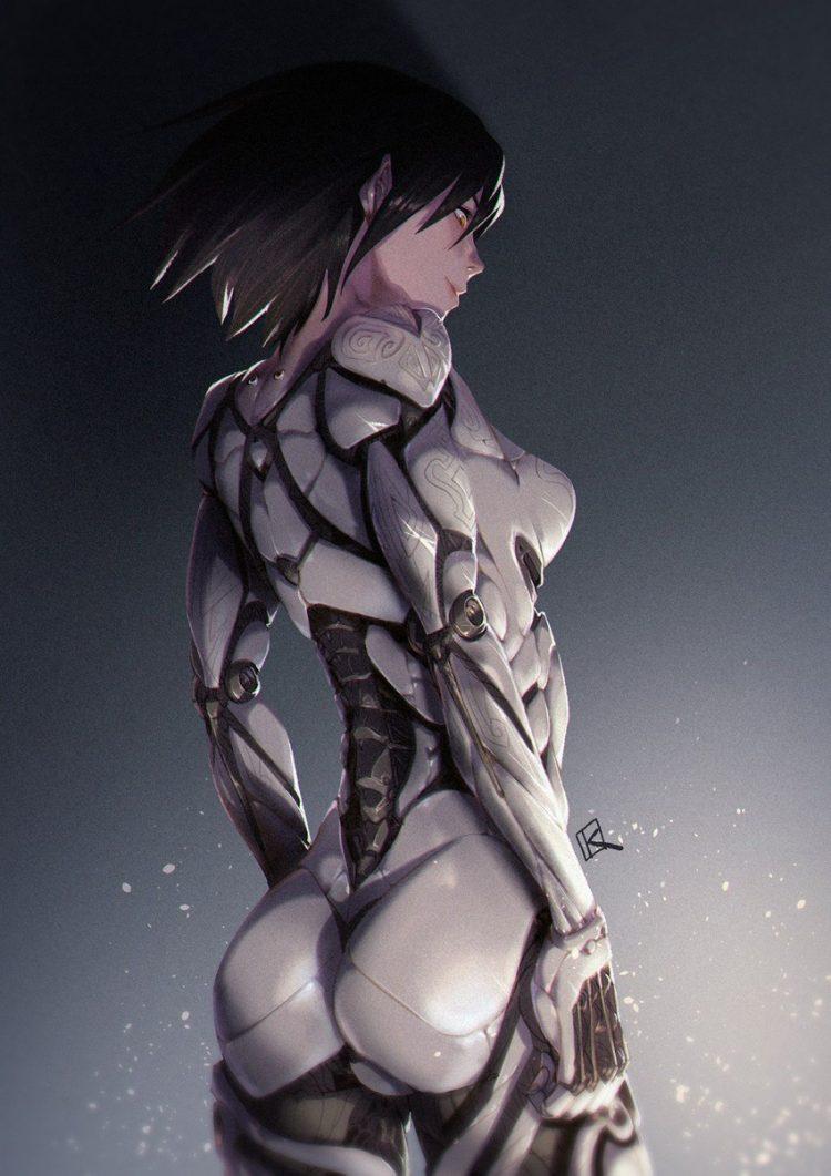 hentai cyborg Android cyberpunk 10 - 【二次】サイボーグやアンドロイドのエロ画像:イラスト