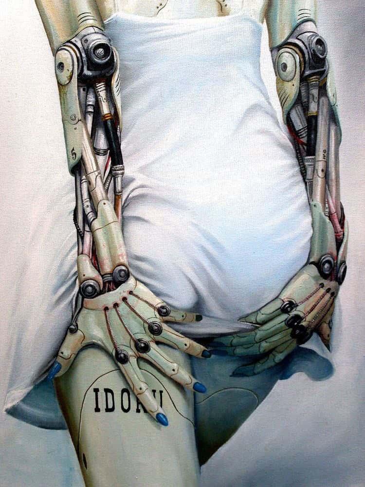 hentai cyborg Android cyberpunk 101 - 【二次】サイボーグやアンドロイドのエロ画像:イラスト その3