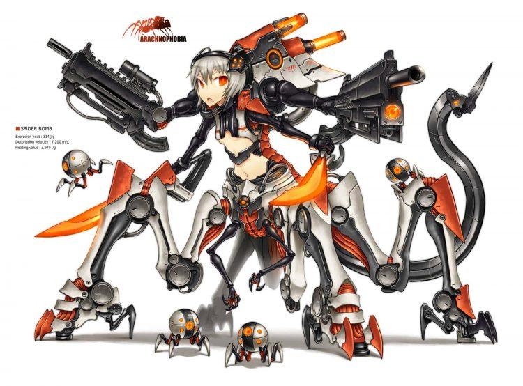 hentai cyborg Android cyberpunk 104 - 【二次】サイボーグやアンドロイドのエロ画像:イラスト その3