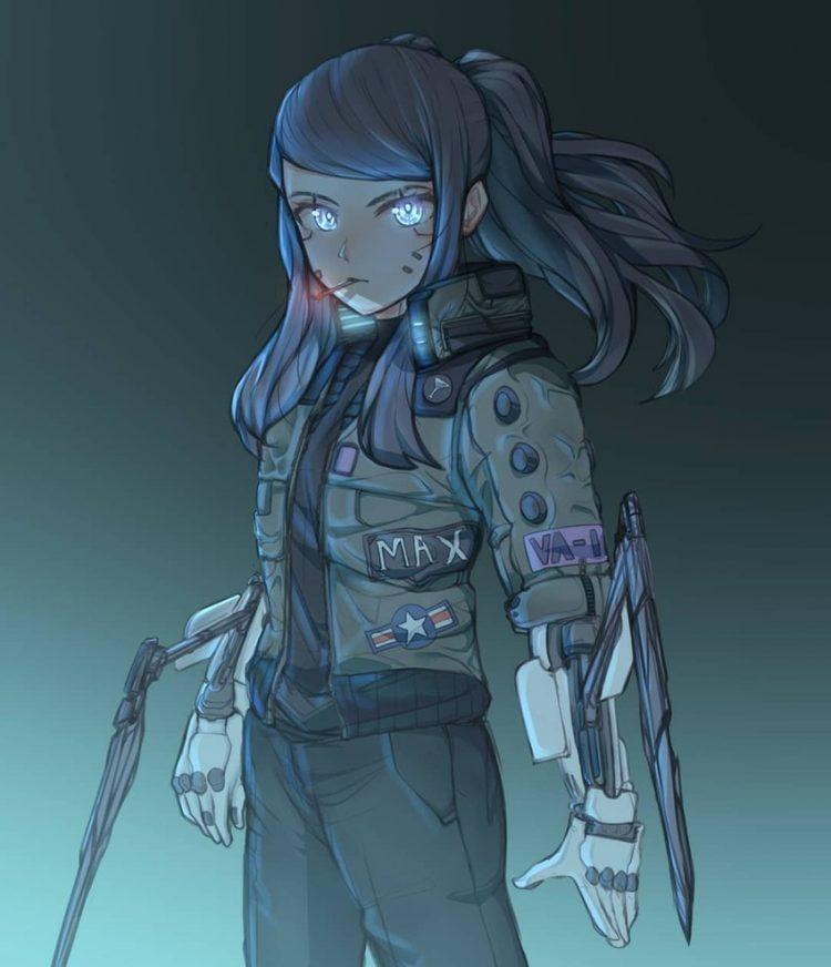 hentai cyborg Android cyberpunk 13 - 【二次】サイボーグやアンドロイドのエロ画像:イラスト