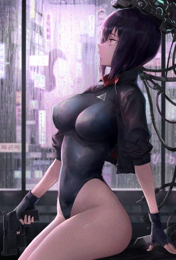 hentai cyborg Android cyberpunk 16 - 【二次】サイボーグやアンドロイドのエロ画像:イラスト