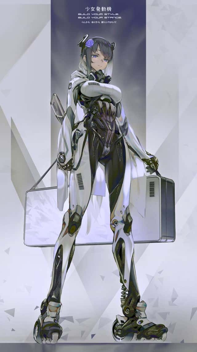 hentai cyborg Android cyberpunk 195 - 【二次】サイボーグやアンドロイドのエロ画像:イラスト その6