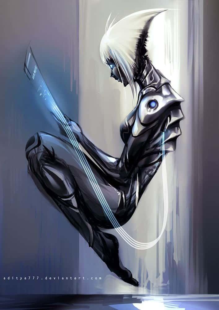 hentai cyborg Android cyberpunk 198 - 【二次】サイボーグやアンドロイドのエロ画像:イラスト その6