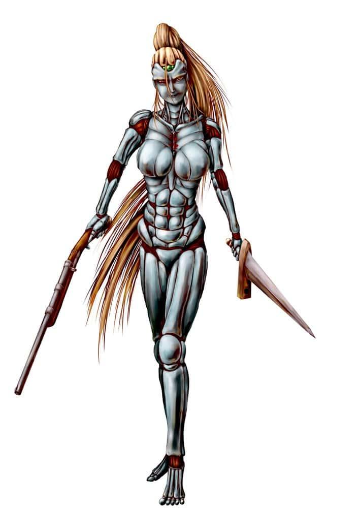 hentai cyborg Android cyberpunk 207 - 【二次】サイボーグやアンドロイドのエロ画像:イラスト その6
