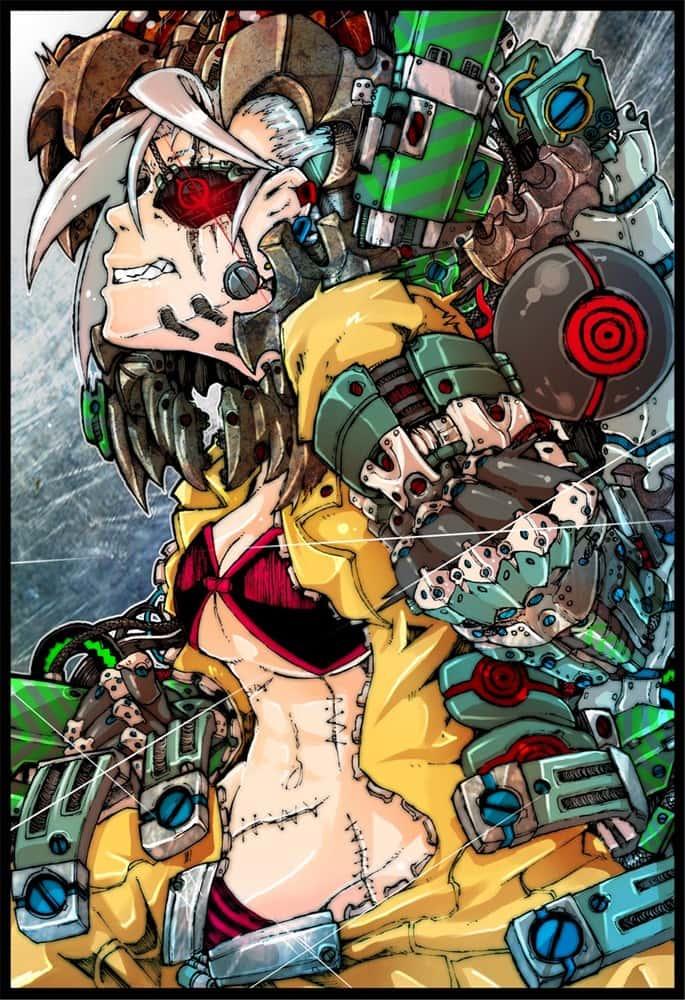 hentai cyborg Android cyberpunk 210 - 【二次】サイボーグやアンドロイドのエロ画像:イラスト その6