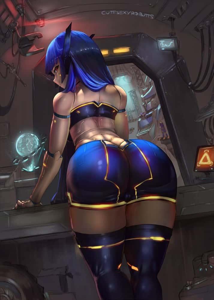 hentai cyborg Android cyberpunk 216 - 【二次】サイボーグやアンドロイドのエロ画像:イラスト その7