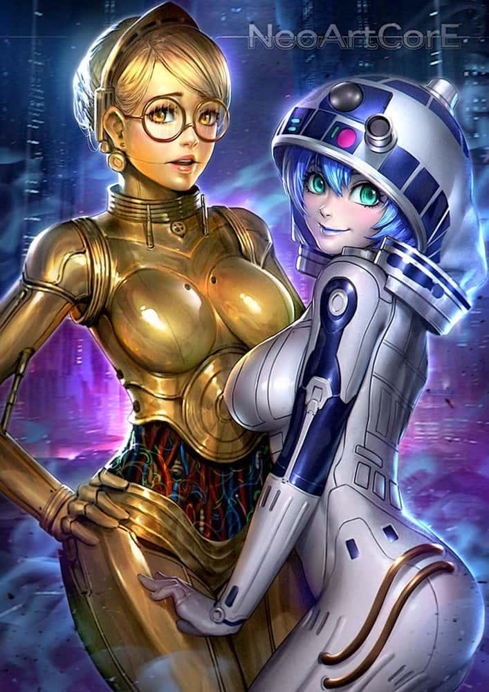 hentai cyborg Android cyberpunk 218 - 【二次】サイボーグやアンドロイドのエロ画像:イラスト その7