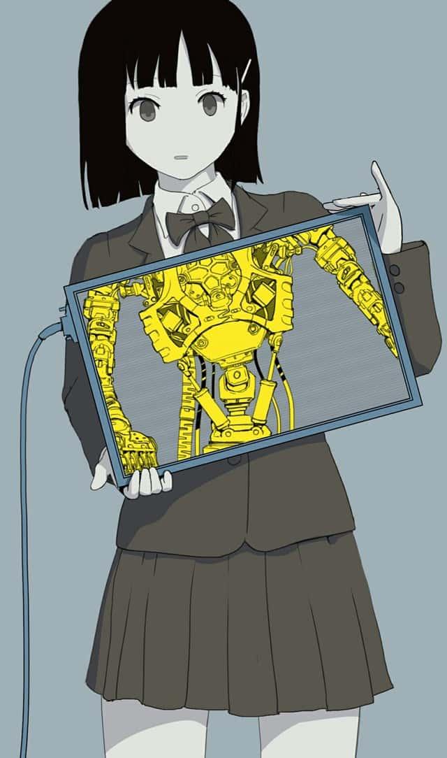 hentai cyborg Android cyberpunk 225 - 【二次】サイボーグやアンドロイドのエロ画像:イラスト その7