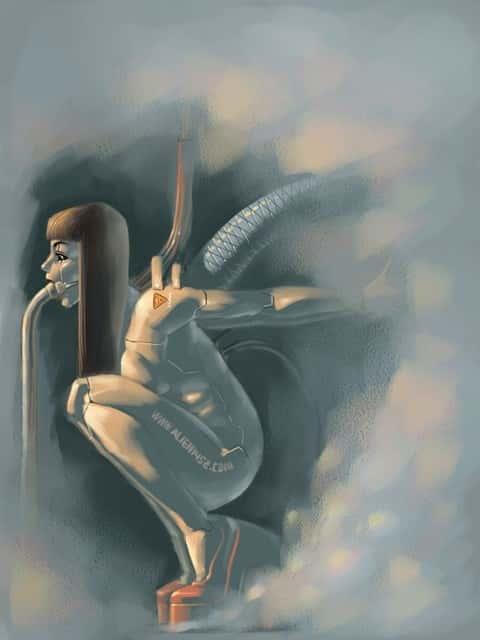 hentai cyborg Android cyberpunk 233 - 【二次】サイボーグやアンドロイドのエロ画像:イラスト その7