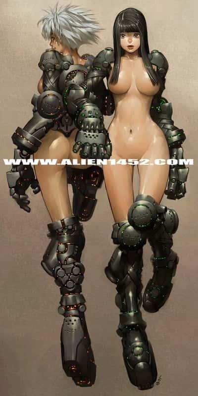 hentai cyborg Android cyberpunk 235 - 【二次】サイボーグやアンドロイドのエロ画像:イラスト その7