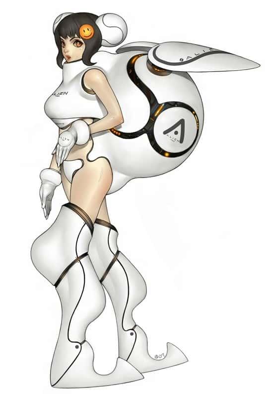 hentai cyborg Android cyberpunk 236 - 【二次】サイボーグやアンドロイドのエロ画像:イラスト その7
