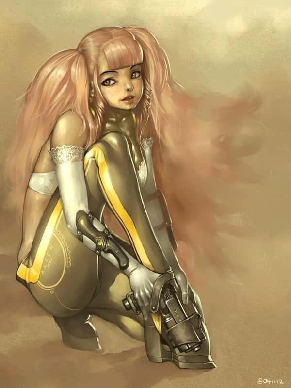 hentai cyborg Android cyberpunk 238 - 【二次】サイボーグやアンドロイドのエロ画像:イラスト その7