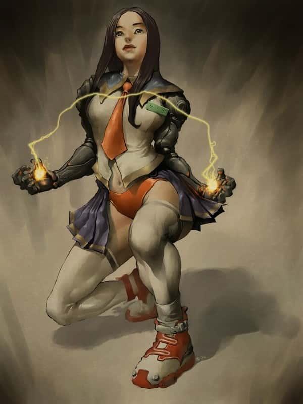 hentai cyborg Android cyberpunk 239 - 【二次】サイボーグやアンドロイドのエロ画像:イラスト その7
