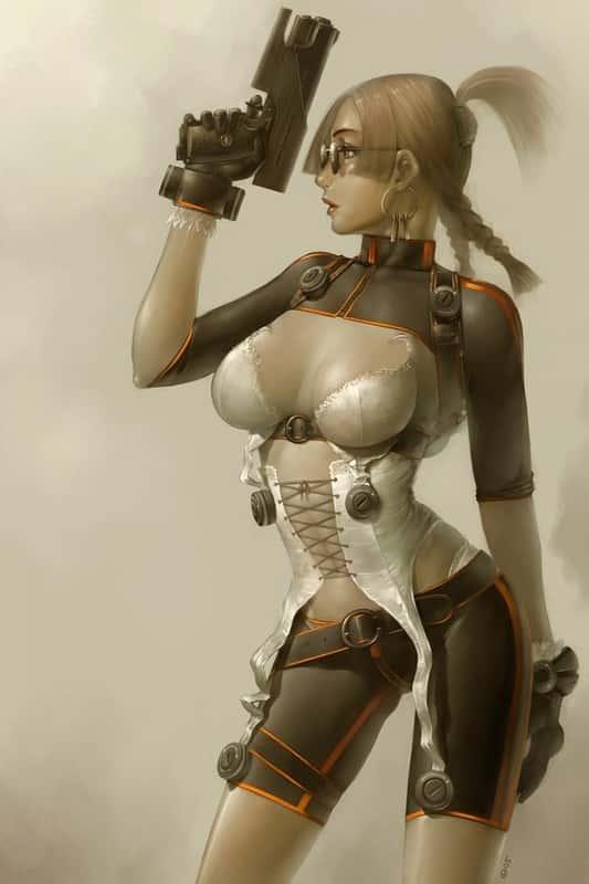 hentai cyborg Android cyberpunk 242 - 【二次】サイボーグやアンドロイドのエロ画像:イラスト その7