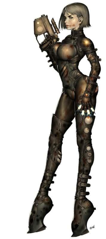 hentai cyborg Android cyberpunk 243 - 【二次】サイボーグやアンドロイドのエロ画像:イラスト その7