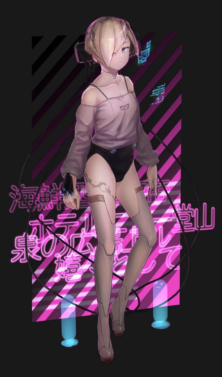 hentai cyborg Android cyberpunk 25 - 【二次】サイボーグやアンドロイドのエロ画像:イラスト