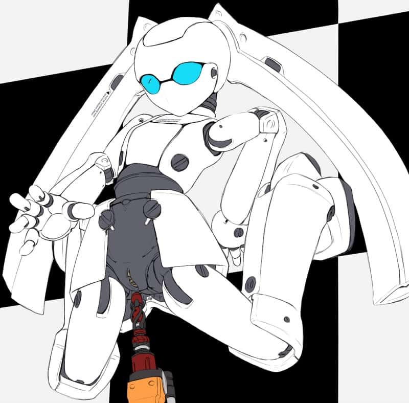 hentai cyborg Android cyberpunk 254 - 【二次】サイボーグやアンドロイドのエロ画像:イラスト その8