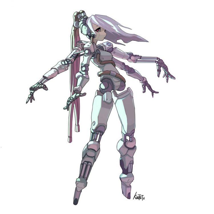 hentai cyborg Android cyberpunk 27 - 【二次】サイボーグやアンドロイドのエロ画像:イラスト